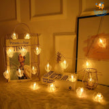 Heart Clip LED String Lights - bigsmall.in