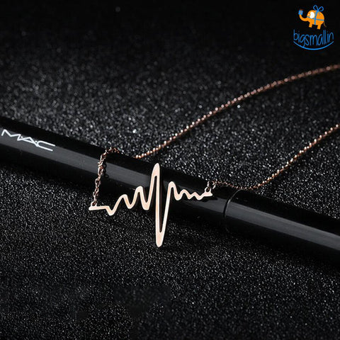 Heartbeat Necklace - bigsmall.in