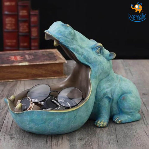 Hippopotamus Storage Table Decorative - bigsmall.in