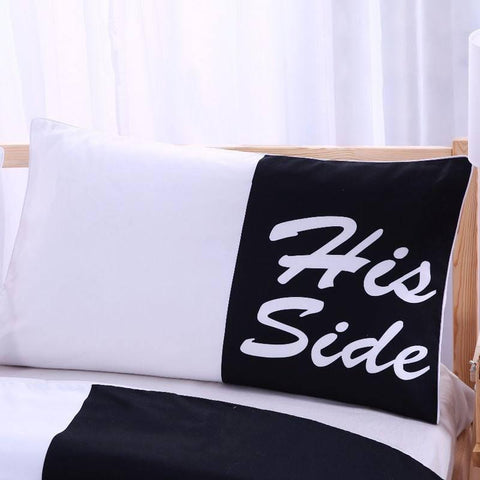 His & Her Bed Set - bigsmall.in
