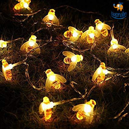 Honey Bee String LED Lights - bigsmall.in