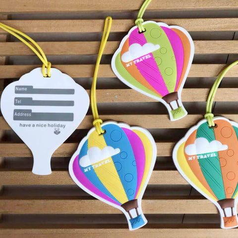 Hot Air Balloon Luggage Tag - bigsmall.in