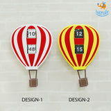 Hot Air Balloon Flip Clock - bigsmall.in