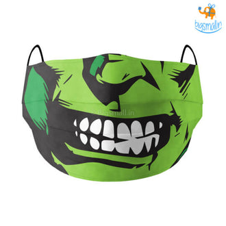 Hulk Cotton Mask With Filter
