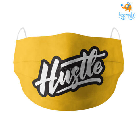 Hustle Cotton Mask With Filter