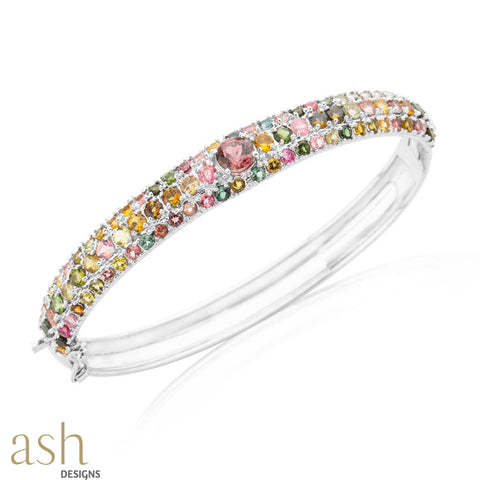 Royal Dream Semi-Precious Bracelet Bangle