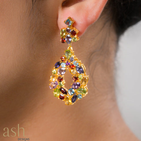 Royal Dream Semi-Precious Earrings