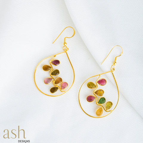 Autumn Dust Semi-Precious Earrings