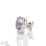 Aurora Semi-Precious Stud Earrings