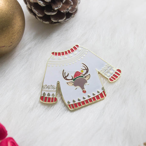 Christmas Sweater Lapel Pin - bigsmall.in