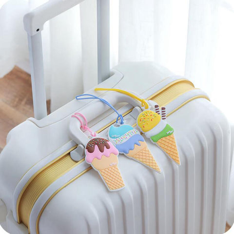 Ice Cream Luggage Tag - bigsmall.in