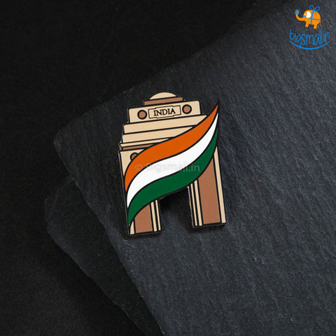 India Gate Lapel Pin