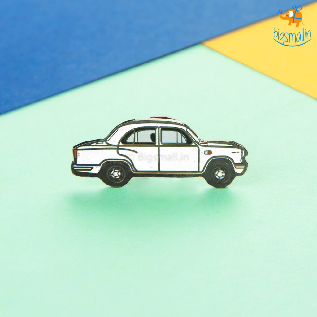 Indian Ambassador Car Lapel Pin