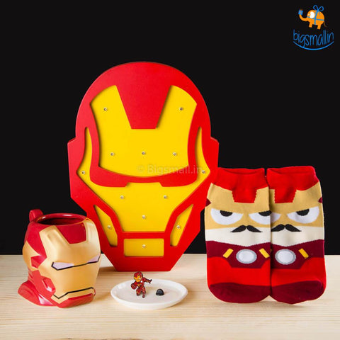 Iron Man Gift Set - 4 Pcs - bigsmall.in