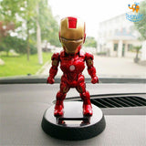 Marvel Solar Powered Bobbleheads - bigsmall.in