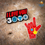 Love You 3000 Lapel Pin - bigsmall.in