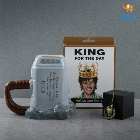 King Gift Set - 3 pcs - bigsmall.in