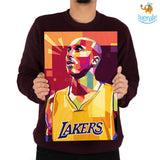 Kobe Bryant Printed Wooden Frame ( 17.6 x 11.6 inches) - bigsmall.in
