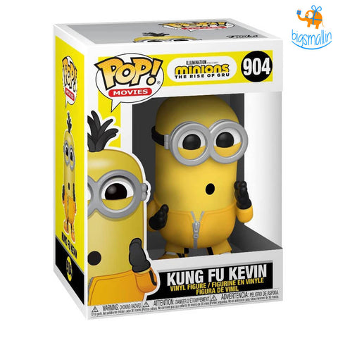 Kung Fu Kevin- Minions 2 3D Funko POP Action Figure