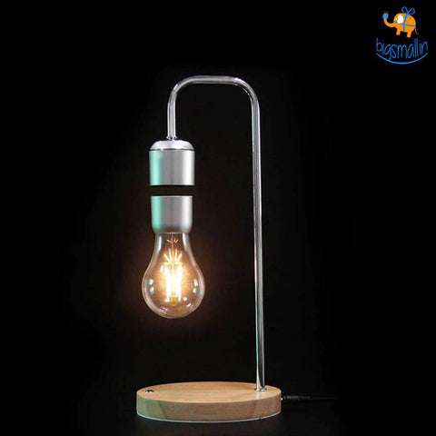 Levitating Light Bulb Lamp - bigsmall.in