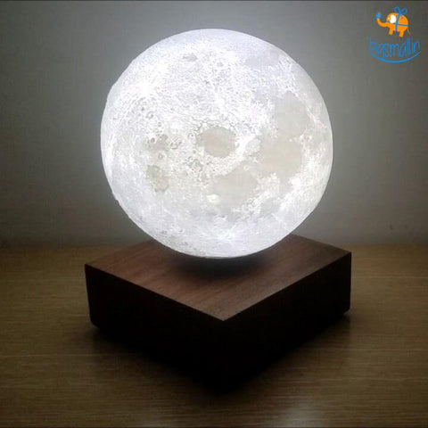 Levitating Moon Lamp - bigsmall.in