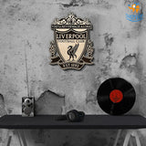 Liverpool Engraved Wooden Crest