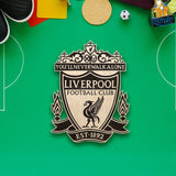 Liverpool Engraved Wooden Crest - bigsmall.in