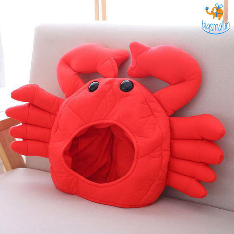 Funny Crab Headgear - bigsmall.in