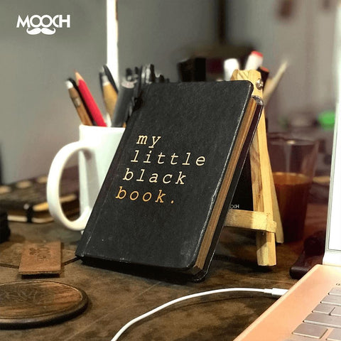 Little Black Book A6 Notebook With Elastic