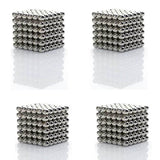Magnetic Metallic Balls - 216 pcs - bigsmall.in