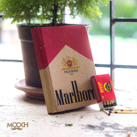 Marlboro A6 Notebook With Elastic - bigsmall.in