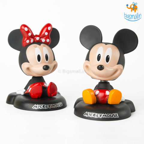 Mickey Mouse & Minnie Bobblehead