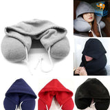 Neck Pillow with Hoodie