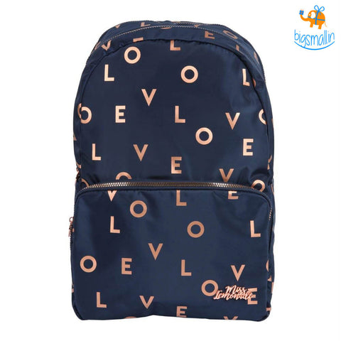 Love Met Navy Backpack