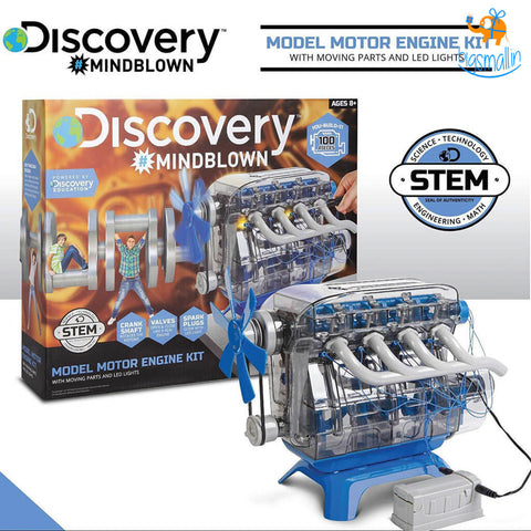 DIY Discovery Model Motor Engine Kit