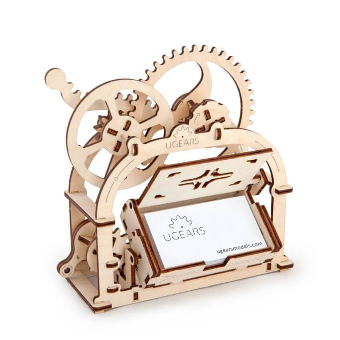 Ugears Mechanical Box/Etui Puzzle - bigsmall.in