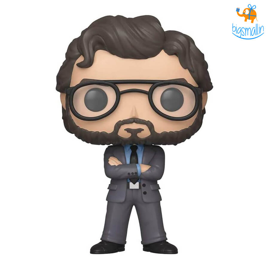 The Professor - Money Heist 3D Funko POP Action Figure