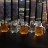 Mug Shot Glasses - Set of 6 - bigsmall.in