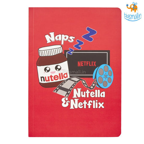 Naps, Nutella & Netflix Diary - bigsmall.in