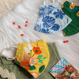 Reusable Floral Cotton Printed Masks - Set of 3