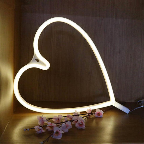 Neon Heart Light - bigsmall.in