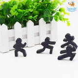 Ninja Magnets - Set of 4 - bigsmall.in
