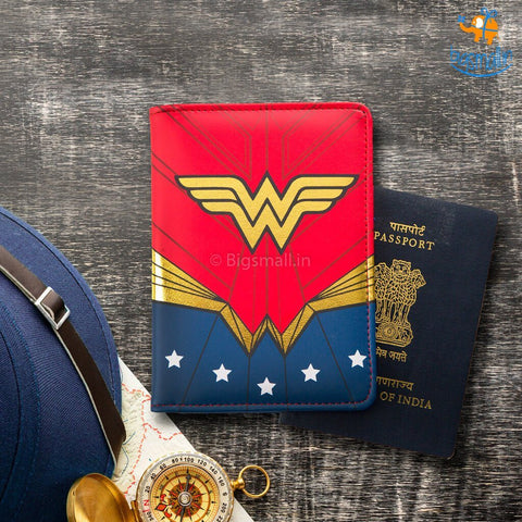 Official Wonder Woman Passport Holder - bigsmall.in