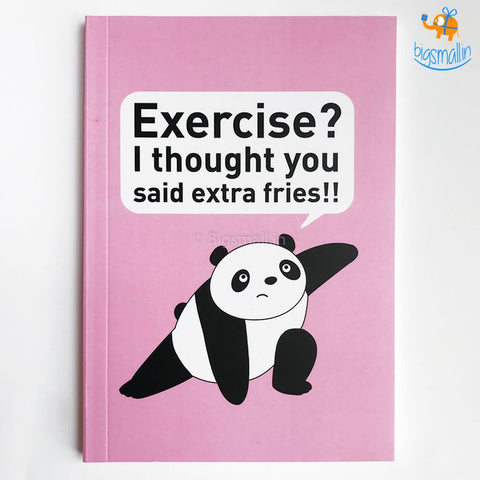 Foodie Panda Notebook - bigsmall.in