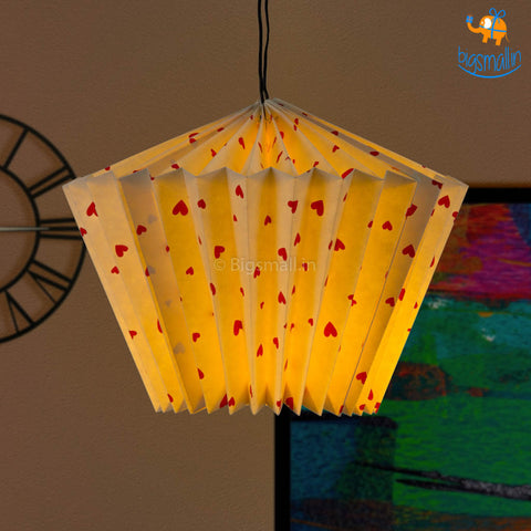 Little Hearts Paper Lantern