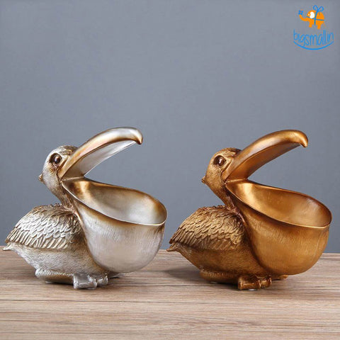 Pelican Storage Table Decorative - bigsmall.in