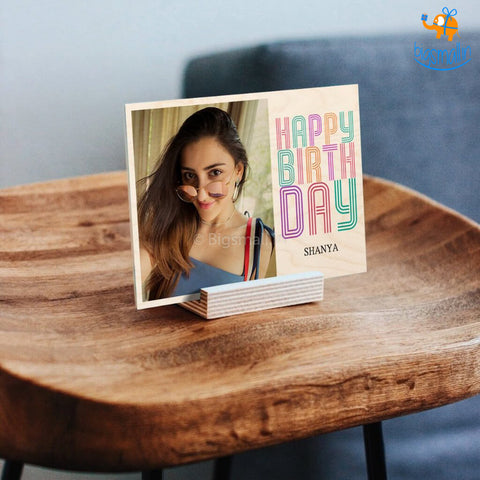 Personalized Happy Birthday Frame | COD not available - bigsmall.in