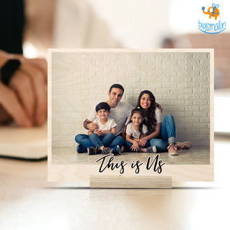 Personalized Family Portrait Frame   COD not available