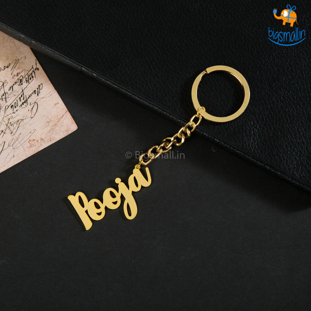 Personalized Metallic Keychain I COD Not Available