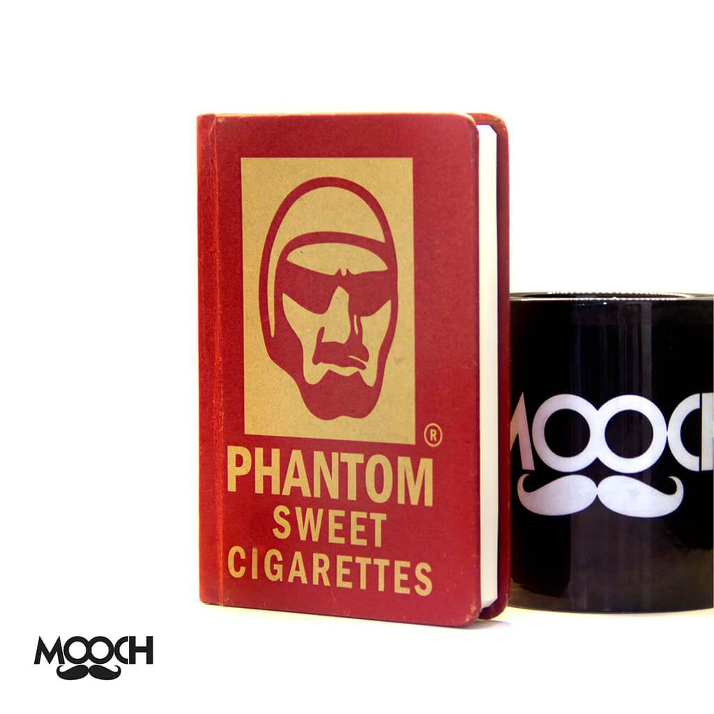 Phantom Sweet Cigarettes A6 Notebook With Elastic - bigsmall.in
